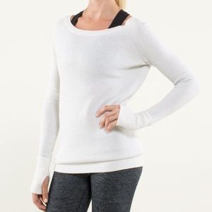 Lululemon Chai time pullover NWOT, size 4